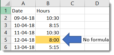 Use conditional formatting to highlight cells containing a formula