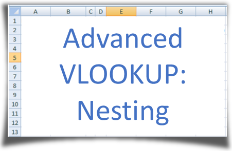 Advanced VLOOKUP: Nested lookups